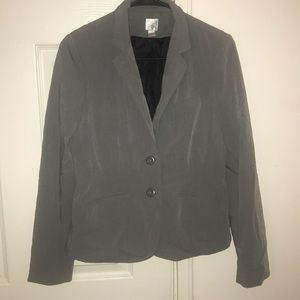 Women's long sleeve grey blazer